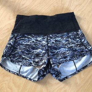 Lululemon Highwaisted Shorts